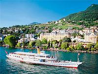 Отдых в СПА-отелях Швейцарии. Montreux Palace 5*, г.Монтрё