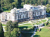 Отдых в СПА-отелях Франции. Evian Royal Resort